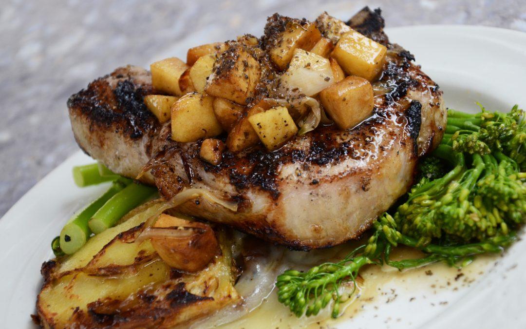 Apple n Pork Chops